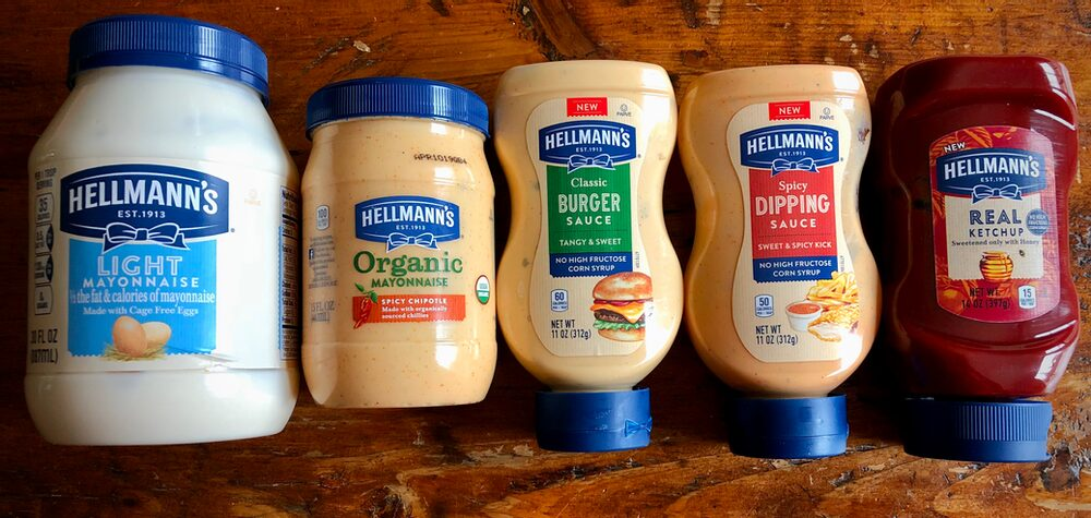 Beyond Burger And Fries... Just A Few Of Hellmann'S Delicious Mayos And Sauces!