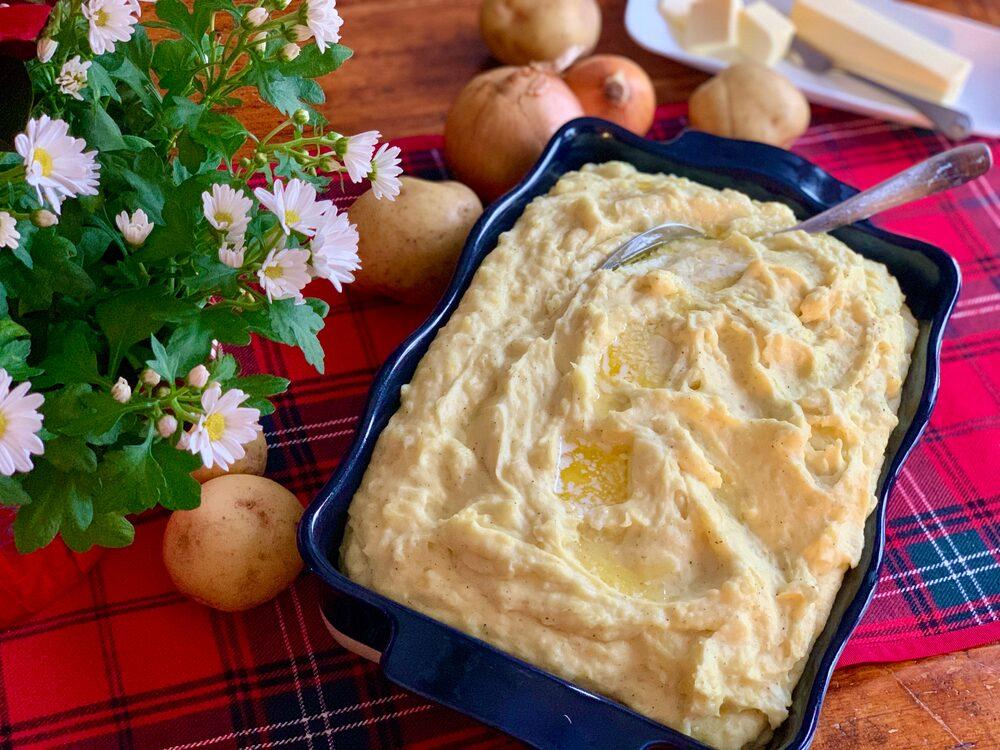 Leftover Potato Mash Up!