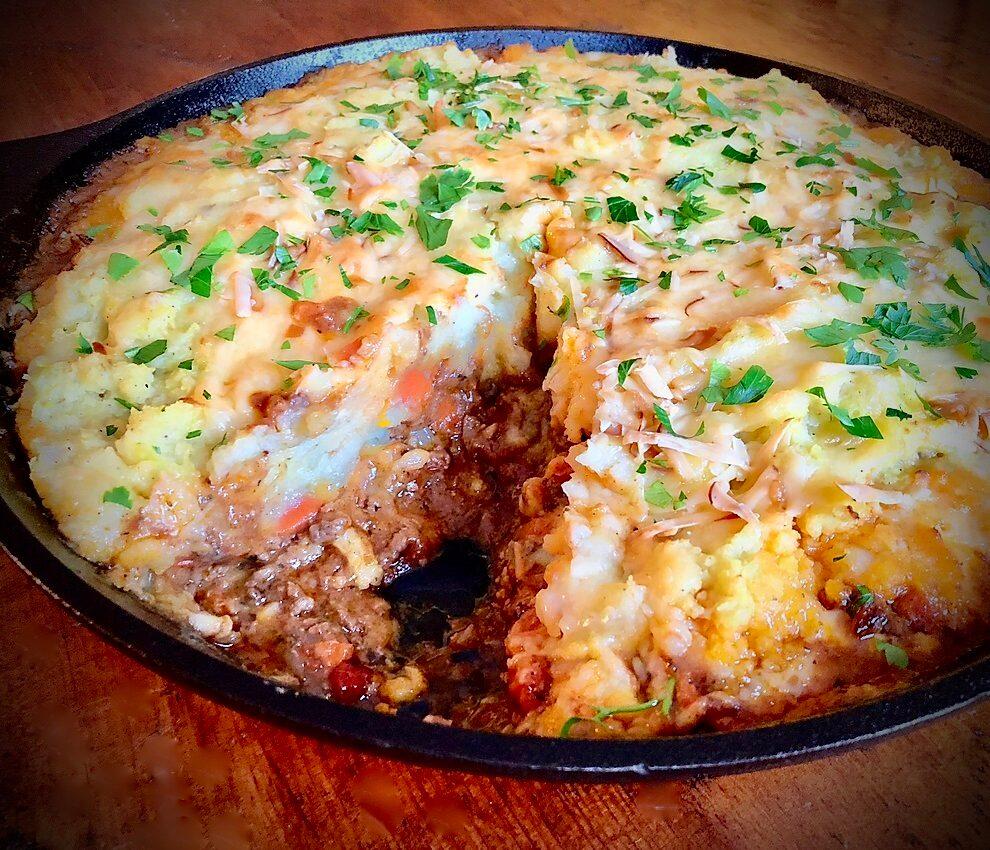 Leftover Potato Mash Up! Mandy'S Cottage Pie