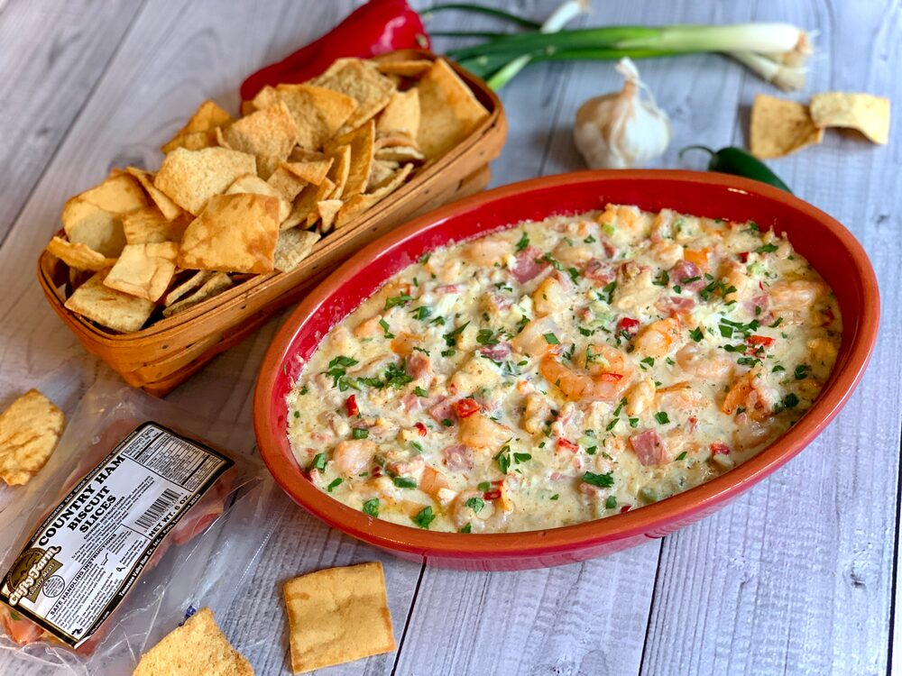 Gelsomini Extravaganza 2019!! Let'S Eat!! Turf And Surf Clifty Farms Ham And Shrimp Dip
