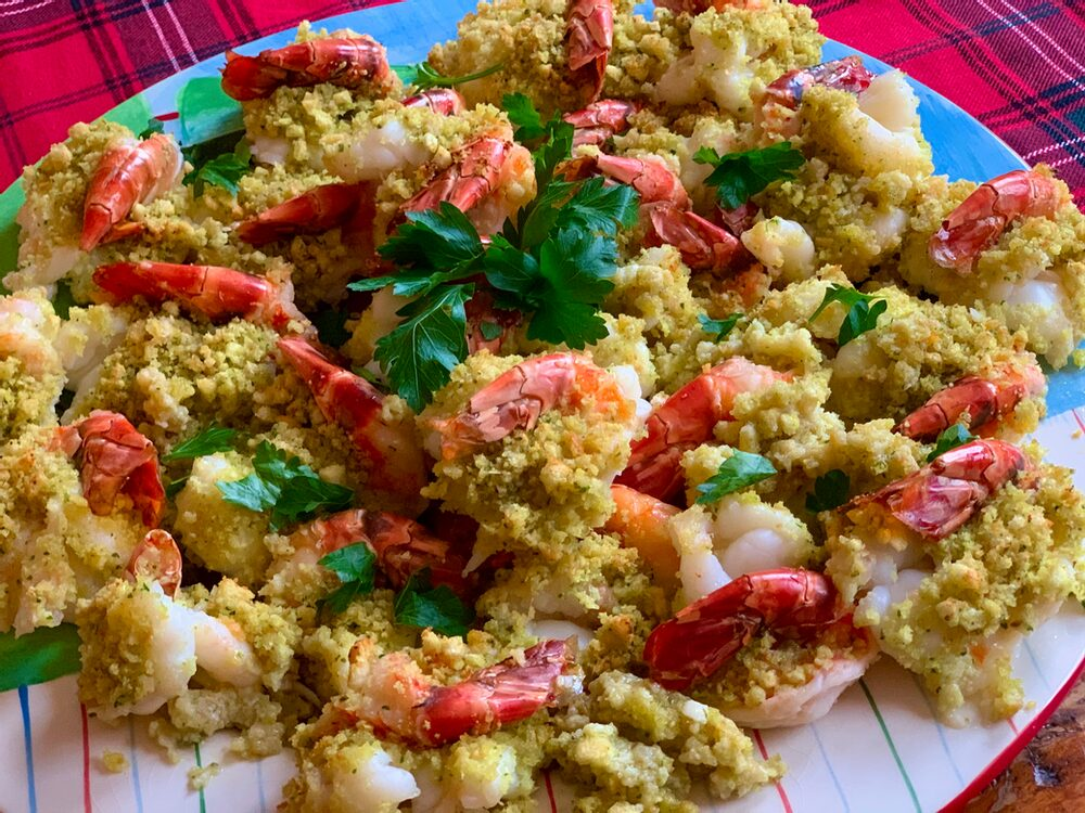 Gelsomini Extravaganza 2019!! Let'S Eat!! Phil'S Totally Italian Bake-Stuffed Shrimp
