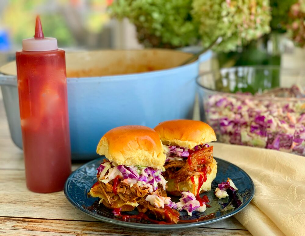 A Perfect Plethora Of Pulled Pork Pleasers Bbq Pulled Pork Sliders With Slaw And Tangy Bbq Sauce