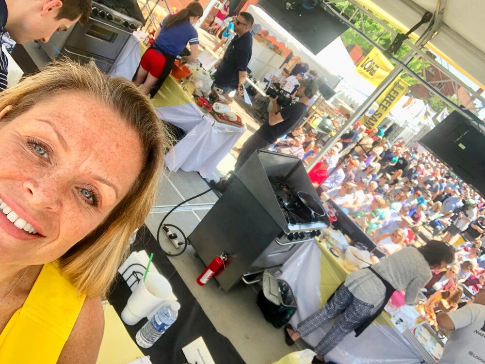 Hello, From The Other Side... Of The Judges Table! 2019 National Cornbread Festival, South Pittsburg, Tn