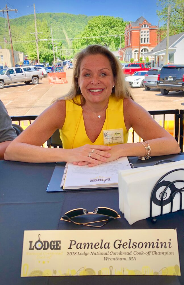Hello, From The Other Side... Of The Judges Table! So Excited To Be A Judge For This Awesome Competition - I Even Dressed In Cornbread Color!