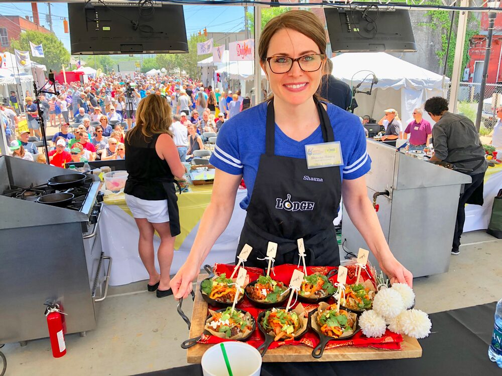 Hello, From The Other Side... Of The Judges Table! Korean Bbq Pork Cornbread Totchos