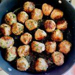 Cheesy Meatball Pull Apart Slider Skillet (1)