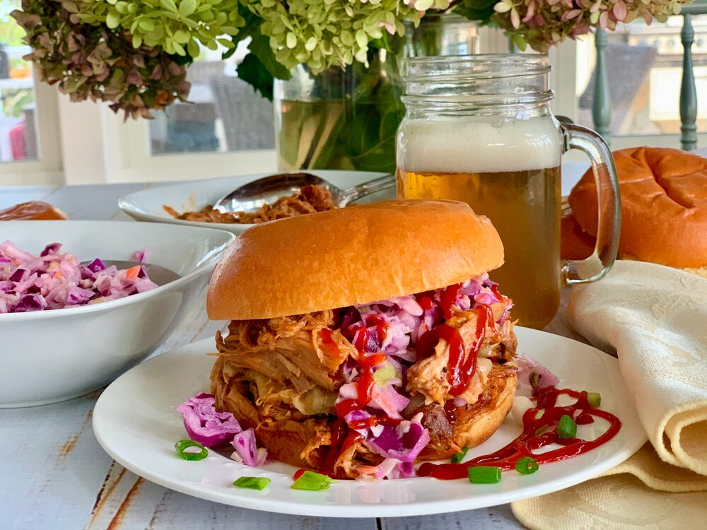 A Perfect Plethora Of Pulled Pork Pleasers Bbq Pulled Pork Sandwiches With Slaw