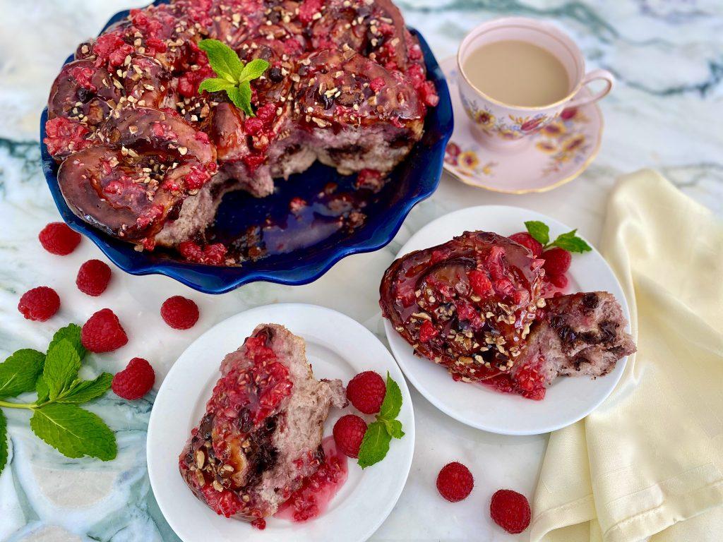 Razzle Dazzle Raspberry Chocolate Buns