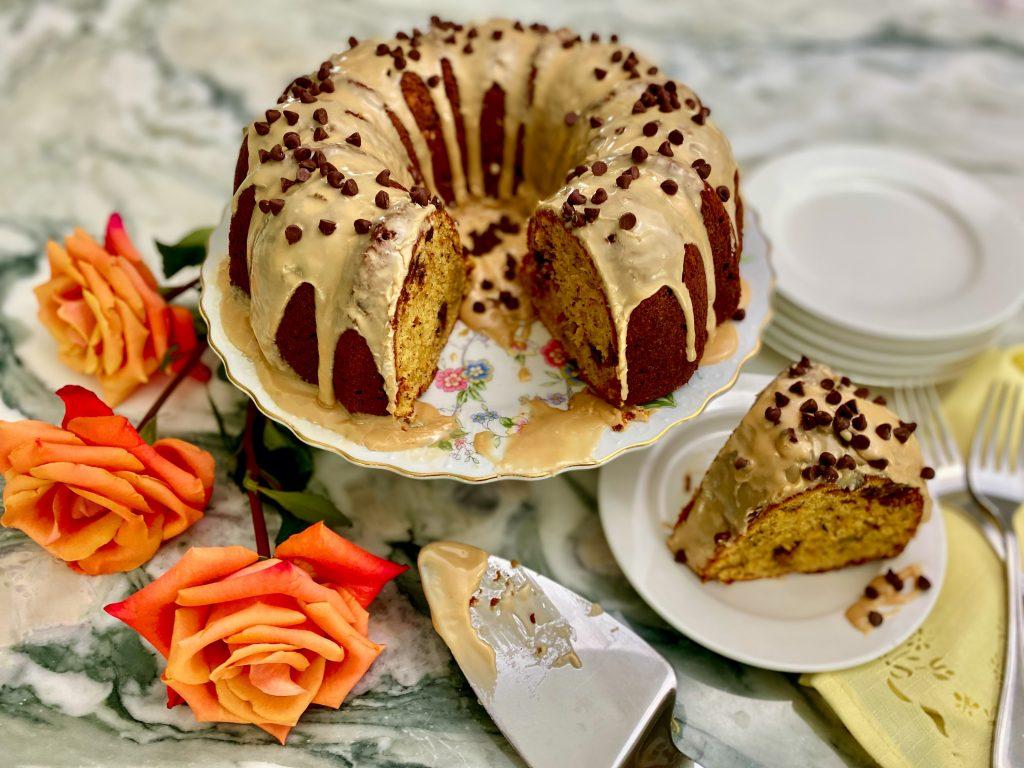 Spiked Block Island Mudslide Cake