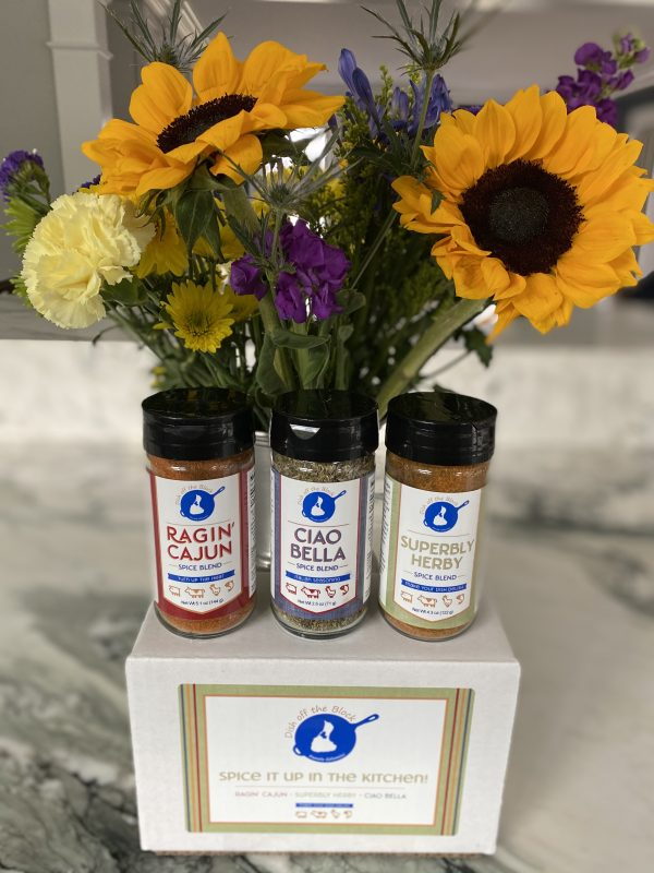 Dotb Spice Trio Spice Trio Box Flowers