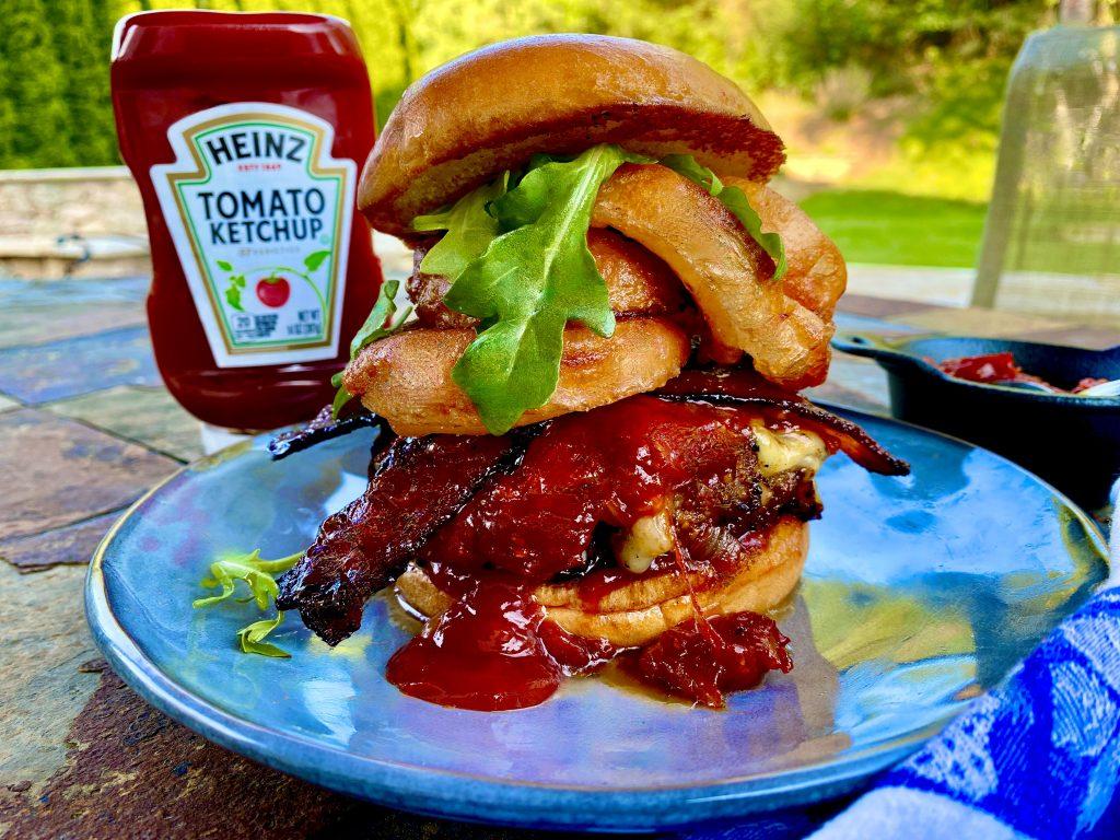 Ketchup Tower Of Power Burger